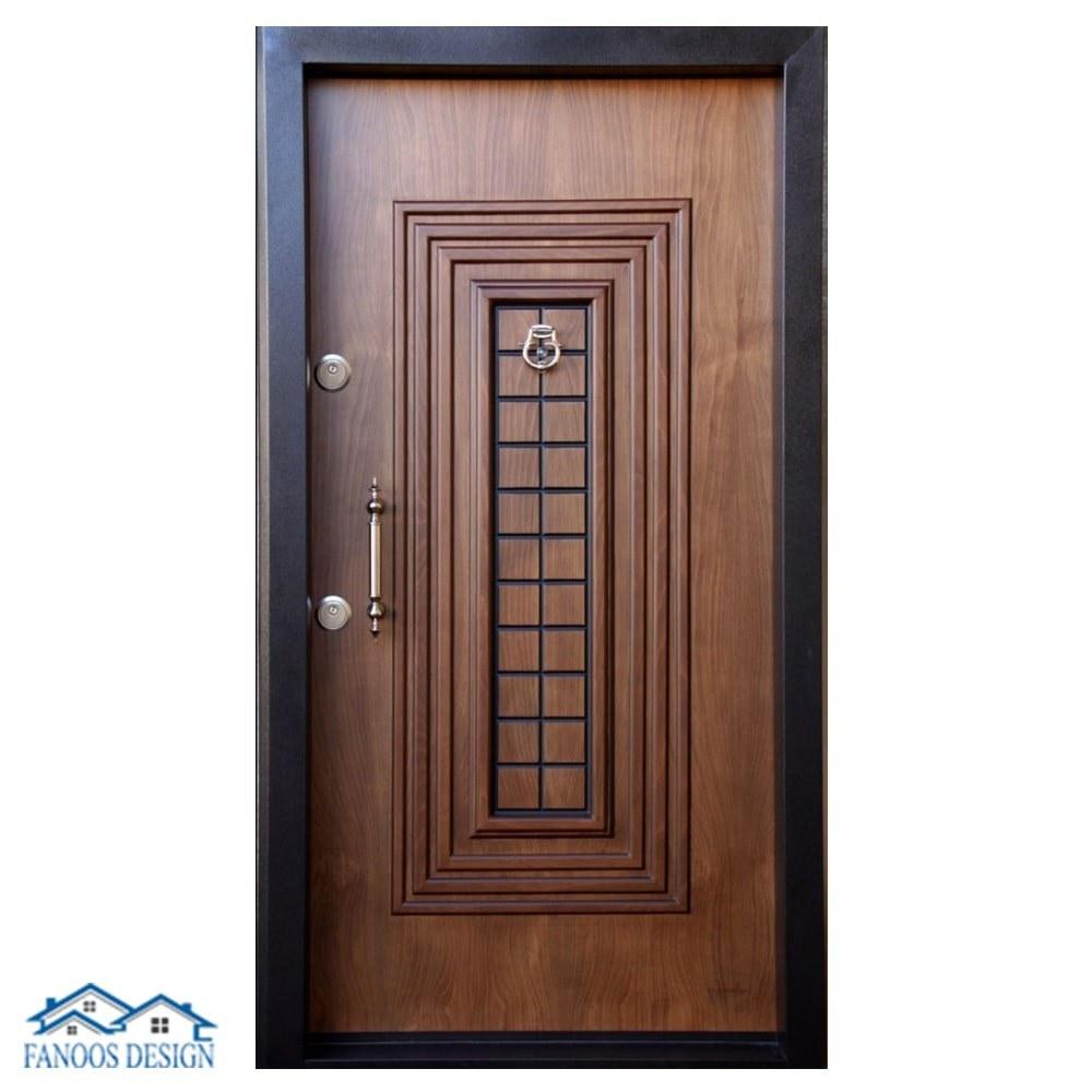 تصویر درب ورودی ضد سرقت برجسته کد ۲۵۰