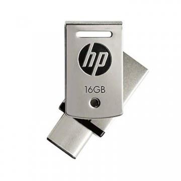 تصویر خرید فلش مموری  HP OTG Type-C USB3.1 Metal  - 16GB