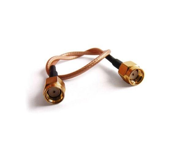 عکس کابل 40 سانتیمتری ، با کانکتورهای RPSMA گلد Cable SMA to SMA LMR200  کابل-40-سانتیمتری-با-کانکتورهای-rpsma-گلد-cable-sma-to-sma-lmr200