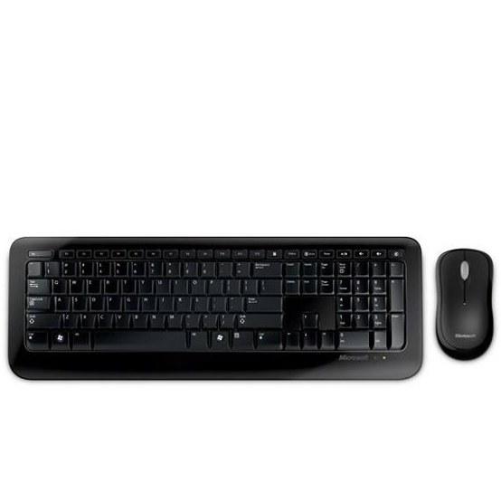 تصویر کیبورد و ماوس بیسیم مایکروسافت مدل Desktop 800 Microsoft Desktop 800 Wireless Keyboard and Mouse