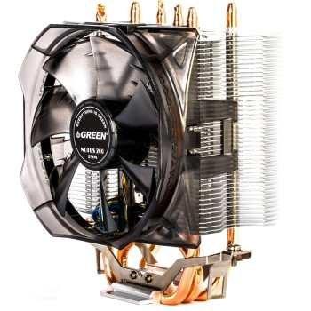 سیستم خنک کننده بادی گرین مدل NOTOUS 400-PWM | Green NOTOUS 400-PWM Air Cooling System