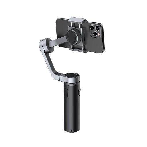 تصویر گیمبال و استبلایزر دوربین بیسوس Baseus Control Handheld Folding Gimbal Stabilizer BC02 SUYT-D0G