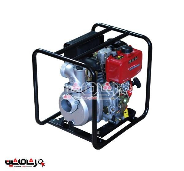 """تصویر موتور پمپ آب گازوییلی سه اینچ """"SKN3"""