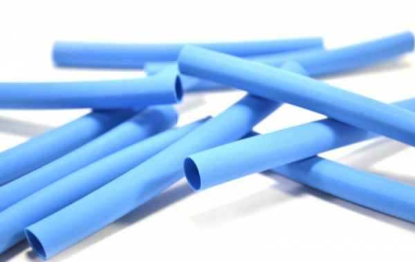 تصویر وارنیش حرارتی آبی سایز ۳mm یک متر