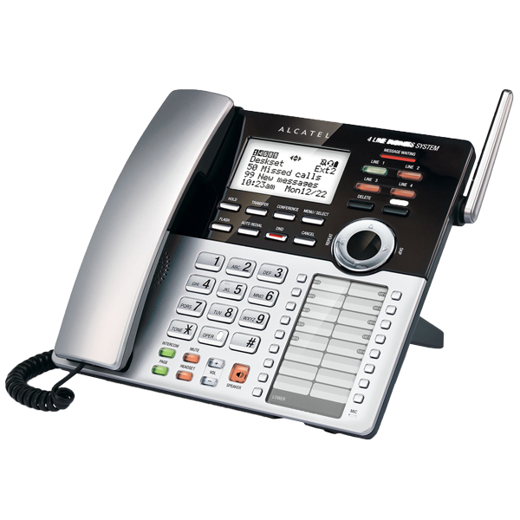 تصویر Alcatel XPS410 Cordless Phone تلفن بی سیم آلکاتل مدل XPS410