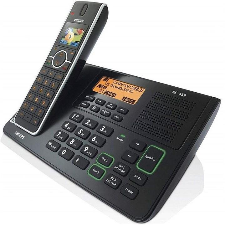 تصویر تلفن بی سیم فیلیپس مدل se659