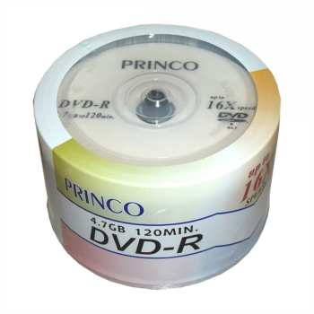 عکس دی وی دی خام پرینکو بسته 50 عددی Princo DVD-R Pack of 50 دی-وی-دی-خام-پرینکو-بسته-50-عددی