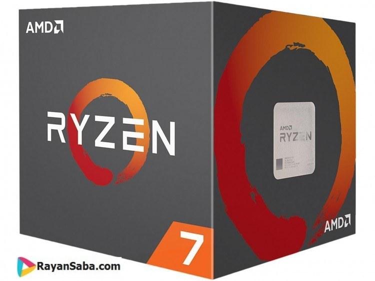 سی پی یو ای ام دی Ryzen 7 2700X | AMD Ryzen 7 2700X AM4 Processor