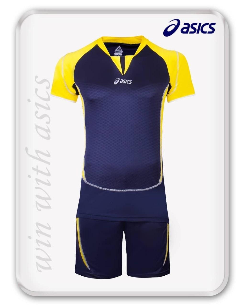 پیراهن و شرت تمرینی والیبال آسیکس