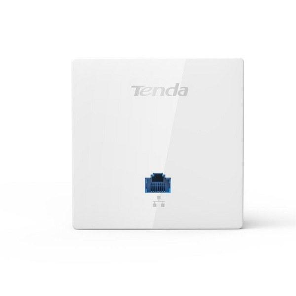 تصویر اکسس پوینت دیواری تندا مدل W6-S TENDA 86*86mm Wall Plate Access Point W6-S