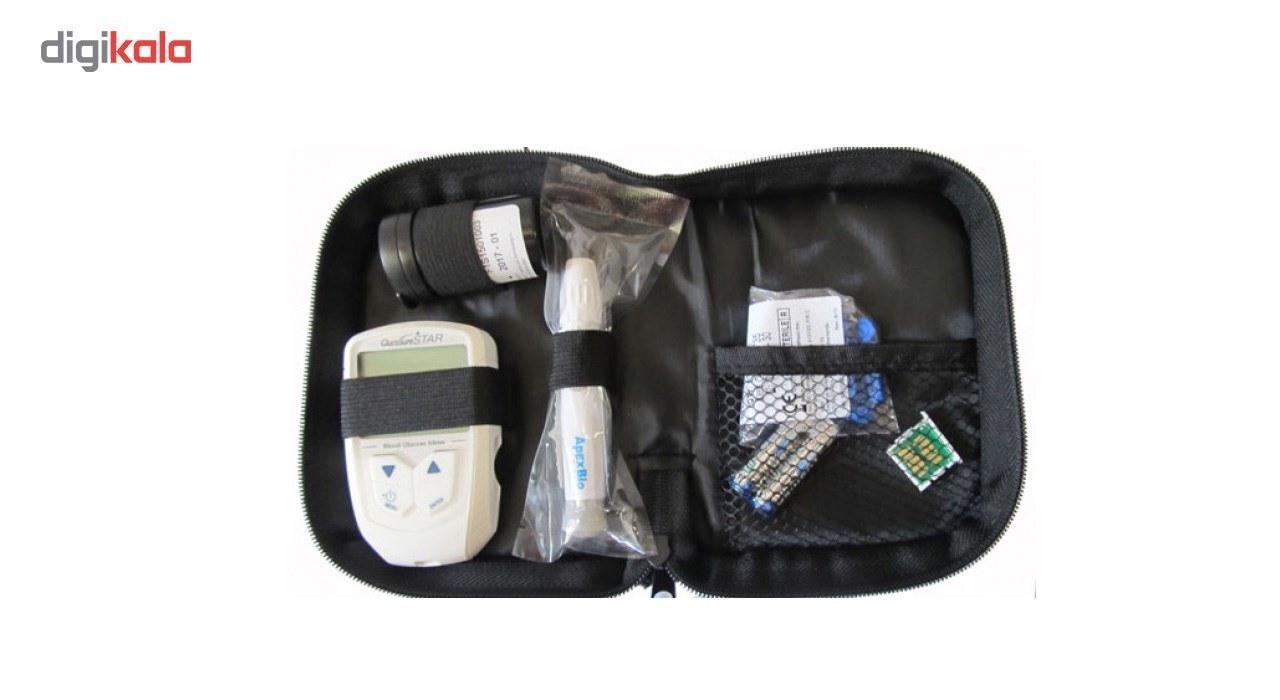 تصویر دستگاه تست قند خون گلوکوشور استار ا Gluco Sure Star Blood Glucose Monitor Gluco Sure Star Blood Glucose Monitor