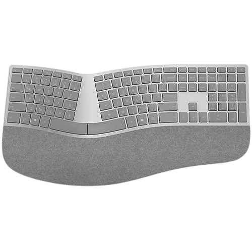 تصویر کیبورد ارگونومیک بلوتوثی مایکروسافت مدل Surface Ergonomic Keyboard Surface Ergonomic Keyboard