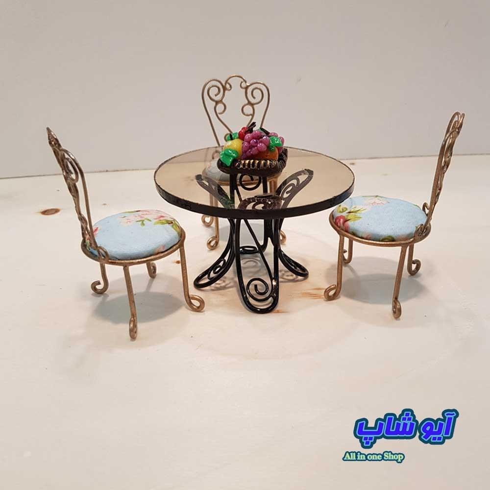 عکس میز و صندلی فرفورژه (دکوری)  میز-و-صندلی-فرفورژه-دکوری