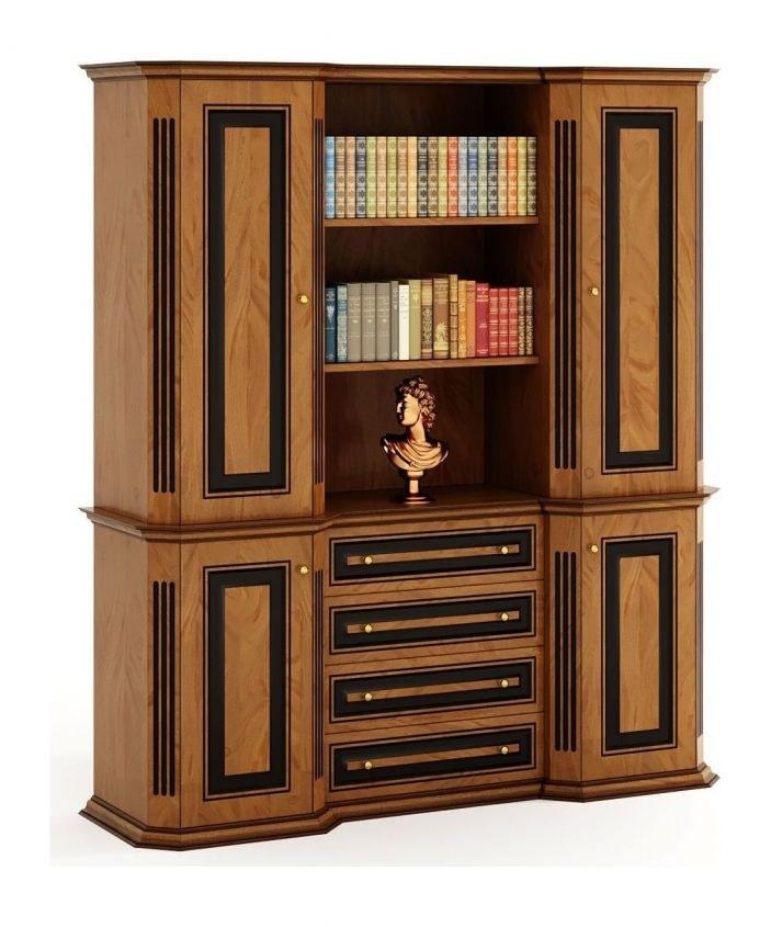 تصویر کتابخانه مدیریتی نیروانا مدل کلاسیک کینگ