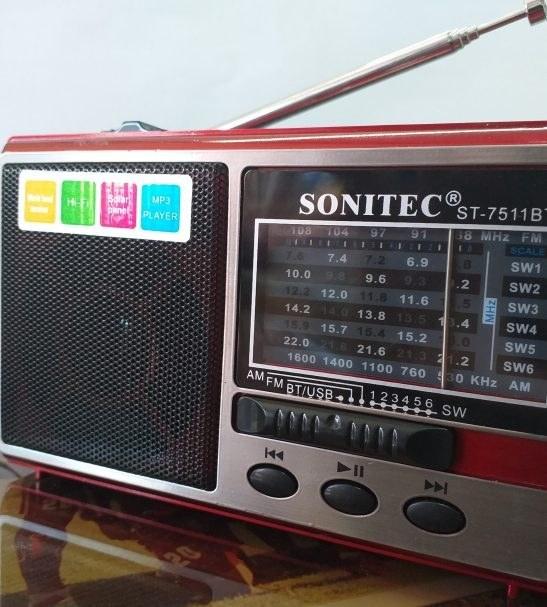 رادیوی 10 موج بلوتوث دار |