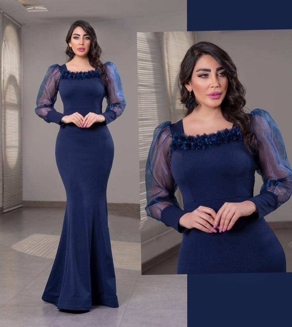 تصویر لباس مجلسی بلند زنانه مدل آزیتا