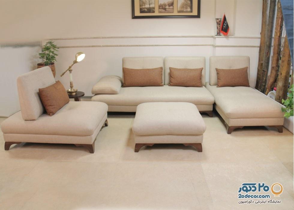 مبلمان راحتی تخت خواب شو مدل یلدیز شرکت لمکو |