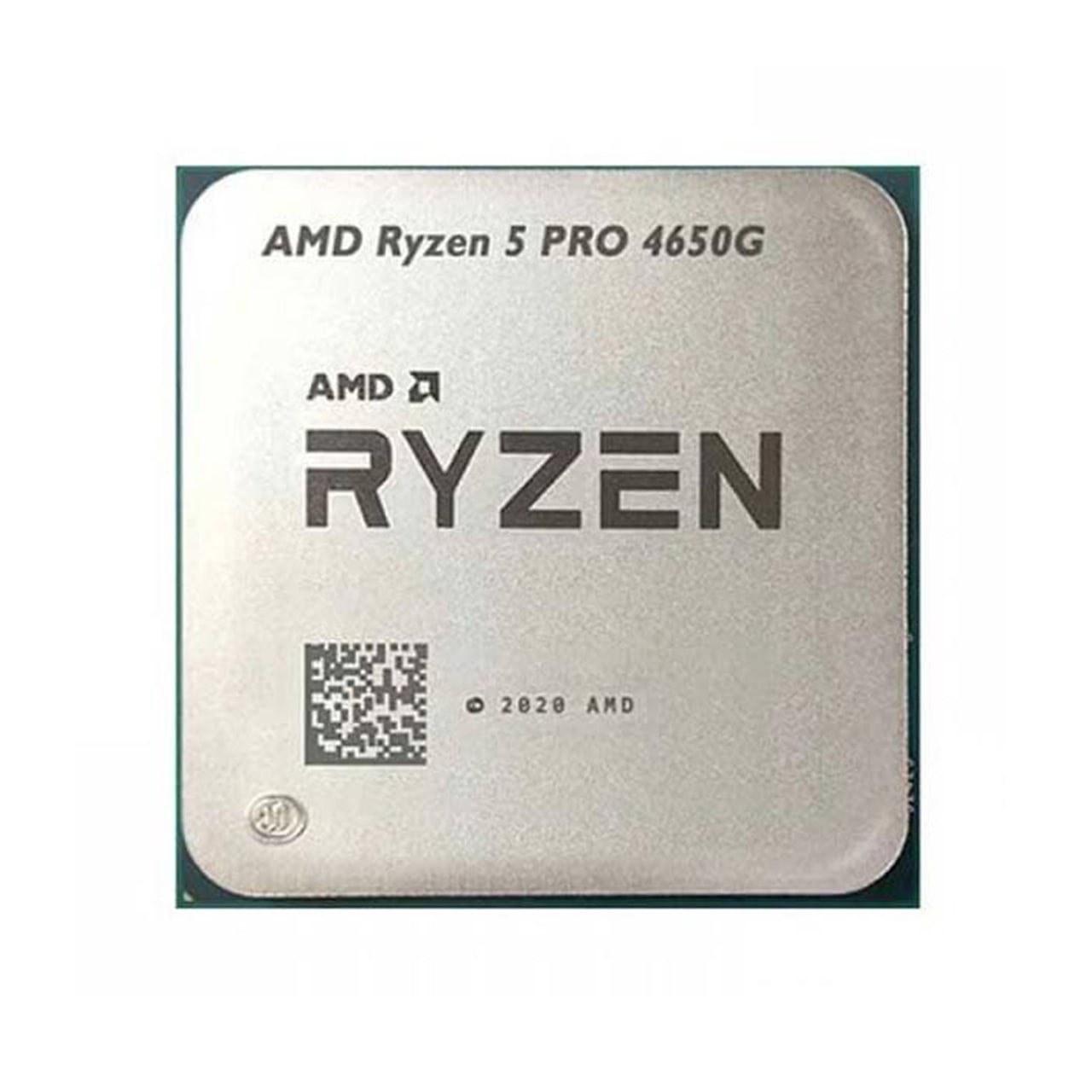 تصویر پردازنده بدون باکس AMD مدل AMD Ryzen 5 PRO 4650G