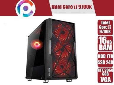 تصویر کامپیوتر گیمینگ و مهندسی Core i7 9700K