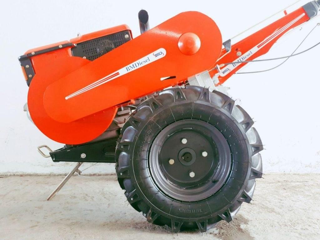 تصویر تیلر ۱۲ اسب بی ام دیزل BMDiesel استارتی با موتور چینی