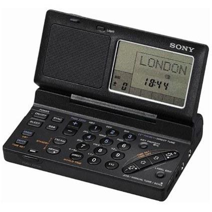 ICF-SW100S | رادیو جهانی با کیف حمل و دریافت فرکانس های FM / MW / LW / SW