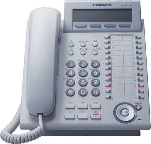 تصویر گوشی تلفن سانترال پاناسونیک Panasonic Telephone KX-DT343
