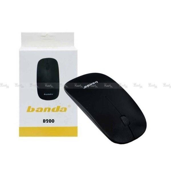 تصویر ماوس بی سیم BANDA مدل B200 ا Banda B200 wireless optical mouse Banda B200 wireless optical mouse