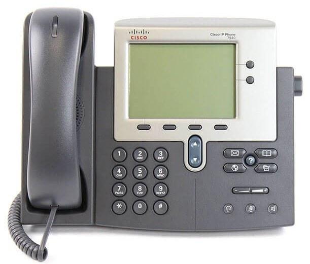 main images IP Phone Cisco CP-7940G تلفن تحت شبکه سیسکو CP-7940G