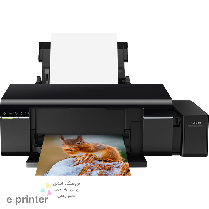 تصویر پرینتر جوهرافشان اپسون Epson Wireless Inkjet Printer CISS-L805