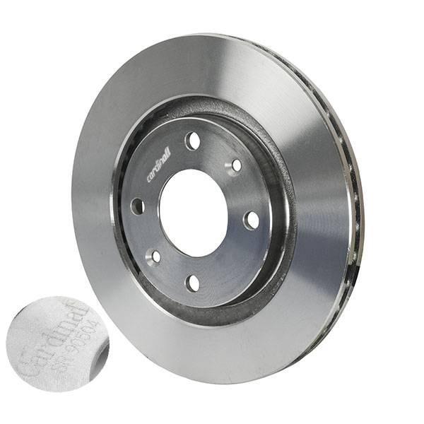 تصویر دیسک ترمز چرخ جلو کاردینال مناسب برای پژو 405 و پارس بسته 2 عددی Cardinal brake disc Suitable for 405