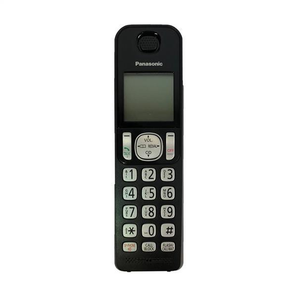 تصویر گوشی بی سیم اضافه پاناسونیک مدل KX-TGFA20 ا Panasonic KX-TGFA20 Additional Handset Panasonic KX-TGFA20 Additional Handset