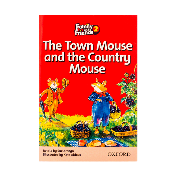 جنگل Family and Friends Readers ۲ The Town Mouse and the Country Mouse