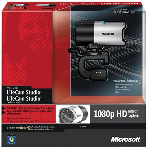 img وب کم ماکروسافت LifeCam Microsoft LifeCam Studio Webcam