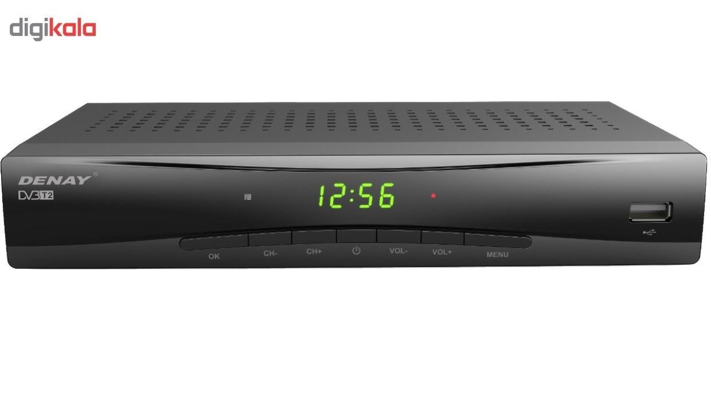 تصویر گیرنده دیجیتال دنای مدل STB943T2 Denay STB943T2 DVB-T