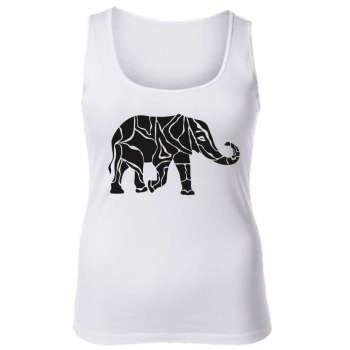 تاپ زنانه طرح فیل کد 2655 |