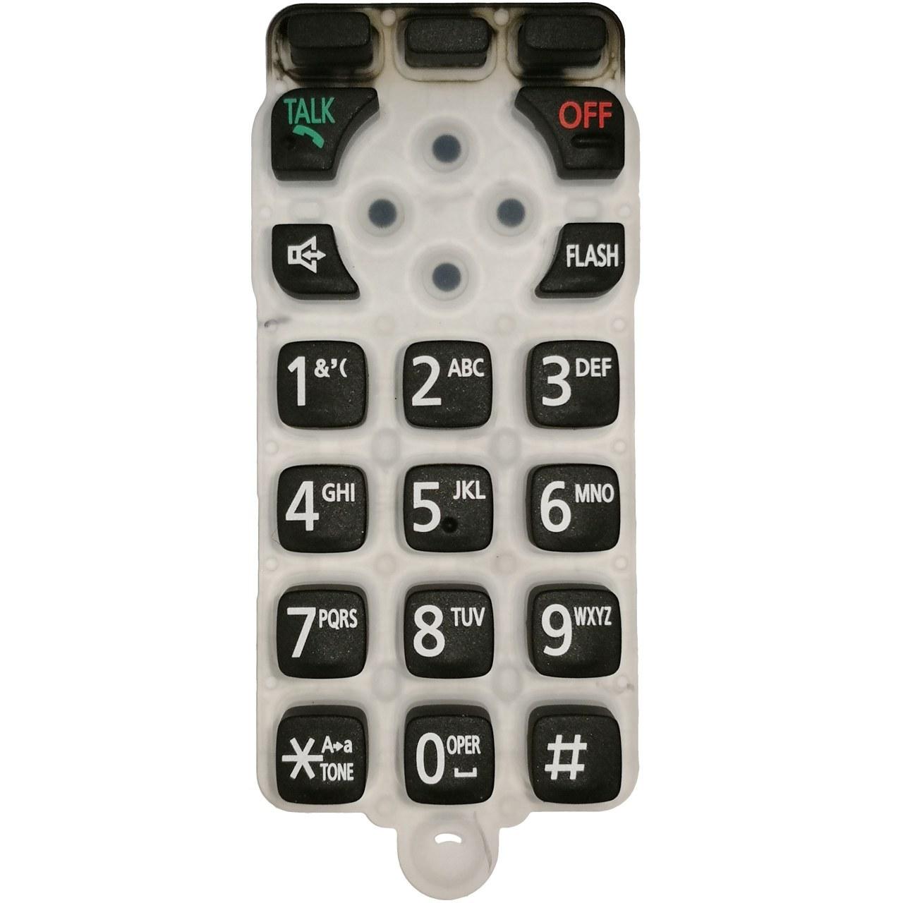 تصویر صفحه کلید یدکی مدل 6671 مناسب برای تلفن پاناسونیک