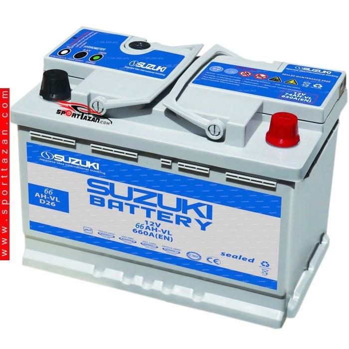 تصویر باتری اتمی سوزوکی ۶۶آمپر Suzuki Atomic battery 66A