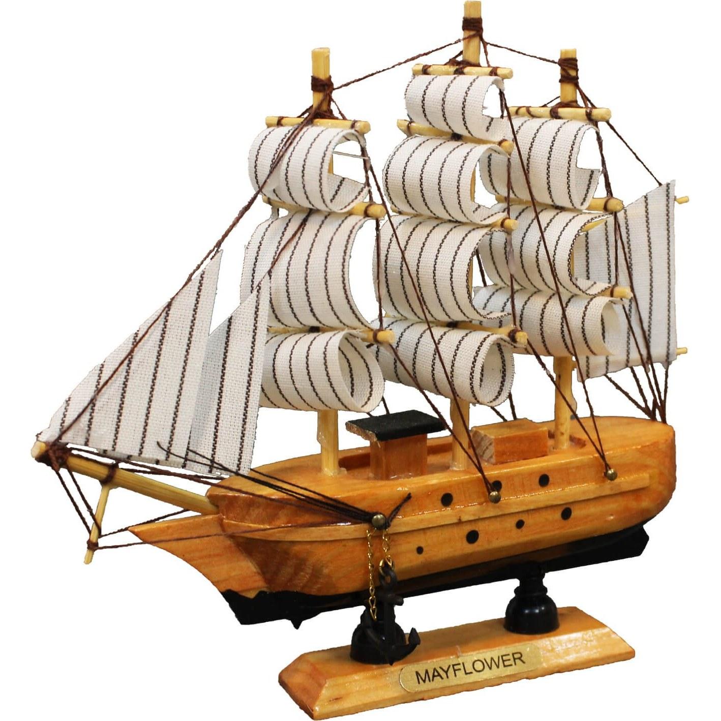 تصویر ماکت دکوری طرح کشتی