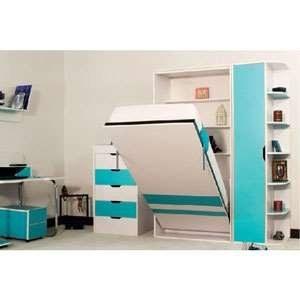 پک جک و فریم عمودی  یک نفره 200×90 تخت خواب تاشو اچ تی ام | HTM Vertical Single