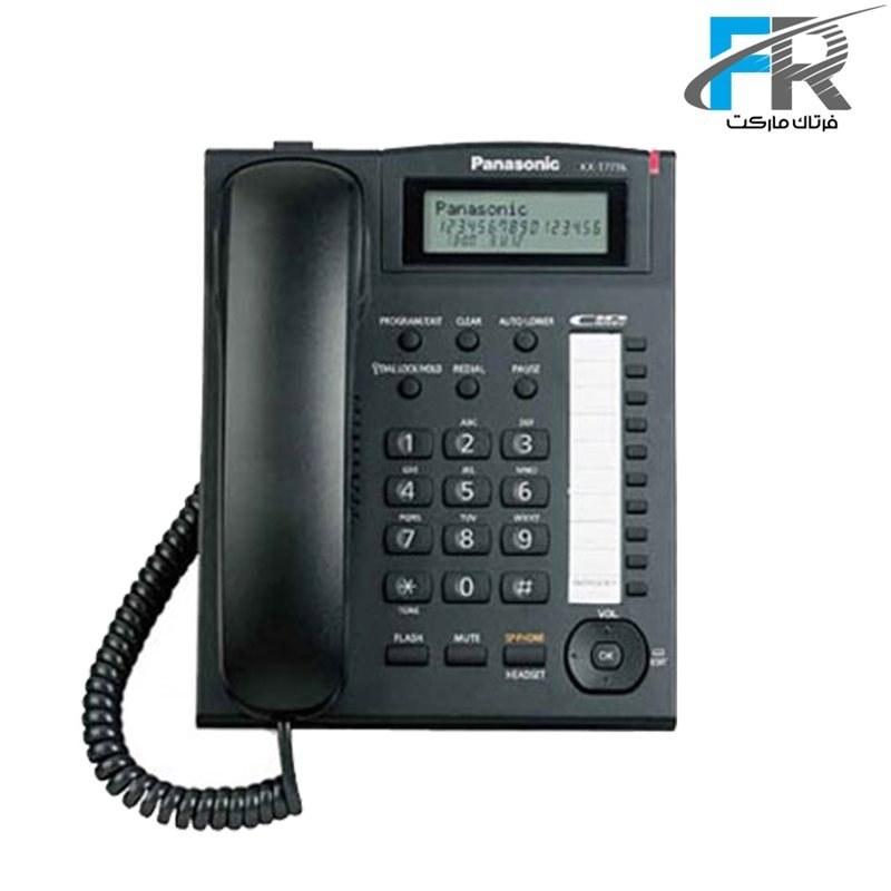 تصویر گوشی تلفن باسيم پاناسونيک مدل KX-T7716X Panasonic KX-T7716X Corded Phone