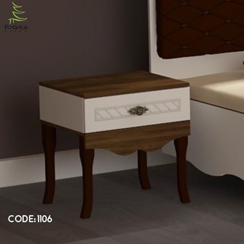 تصویر میز پاتختی مدل پانیذ