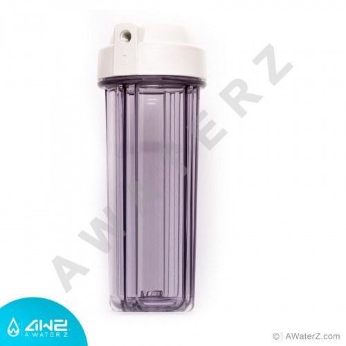 تصویر هوزینگ شیشه ای دستگاه تصفیه آب خانگی