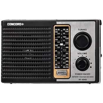 تصویر رادیو کنکورد مدل 604U5 Concord 604U5 Radio