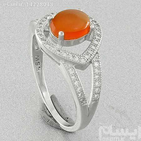 انگشتر نقره زنانه سنگ عقیق یمنی اصل | **حتما سایز ذکر شود**یک هدیه ی بسیار خاص جنس نقره ( هدیه تولد و ولنتاین )