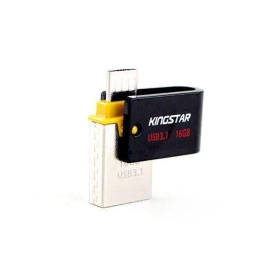 main images فلش مموری Kingstar S30 64G OTG USB3.1