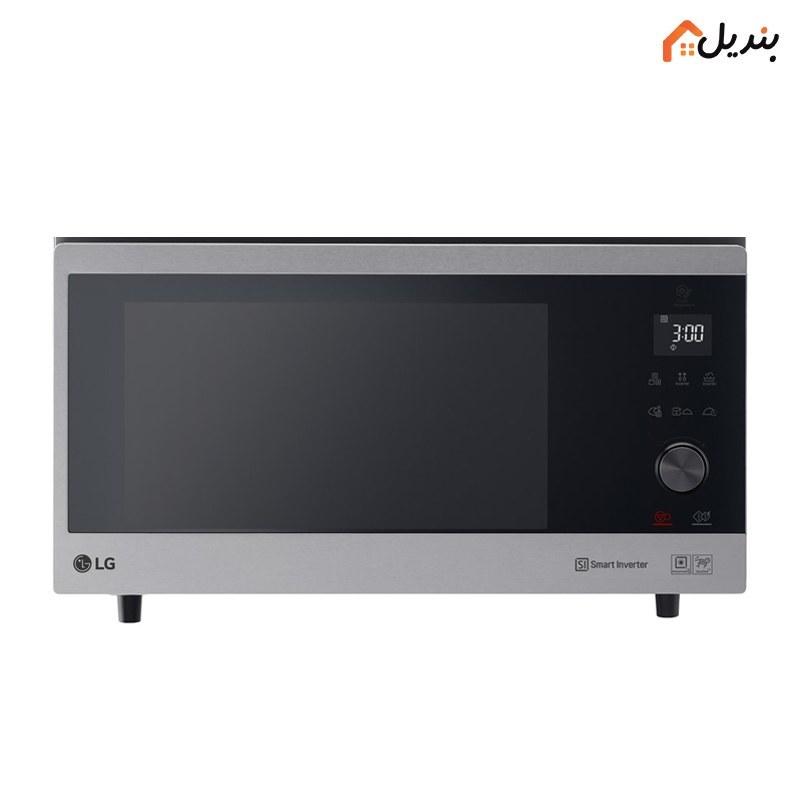 تصویر ماکروویو گریل کانوکشن ال جی مدل MJ3965ACS LG MJ3965ACS Grill Convection NeoChef Microwave Oven