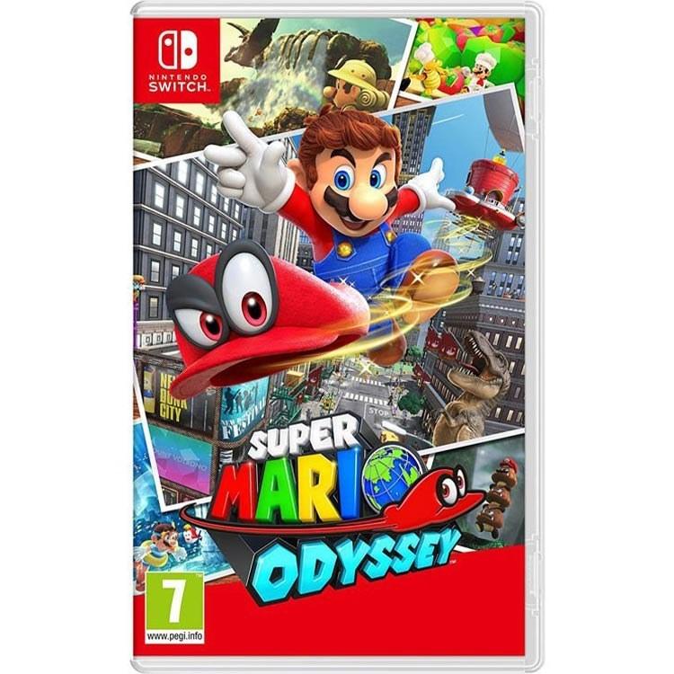 تصویر بازی Super Mario Odyssey مخصوص Nintendo Switch Super Mario Odyssey For Nintendo Switch Game
