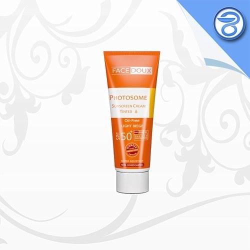 ضدآفتاب رنگی فوتوزوم فیس دوکس Facedoux Photosome Sunscreen Tinted⁺SPF50