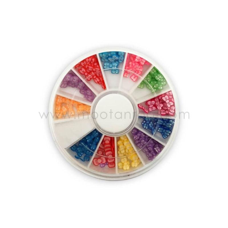 دیزاین ناخن رنگی 3d nail seal(G)