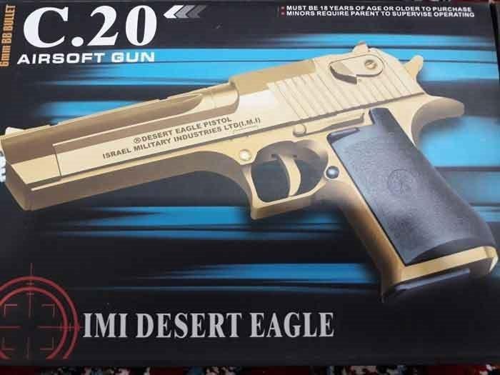 تفنگ ایرسافت گان مدل C.20+